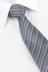 Autograph Pure Silk Multi-Striped Tie
