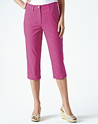 Michele Stretch Crop Trousers 49cm