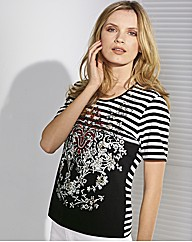 Gerry Weber Short Sleeve Jersey Top