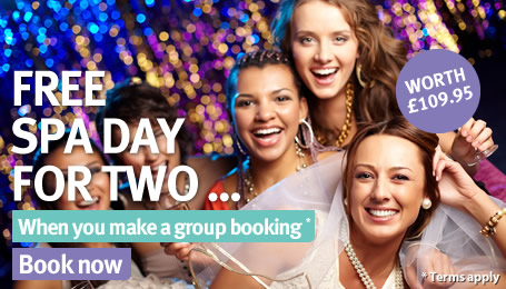 Hen Party Offer <br /> Free Spa Day*