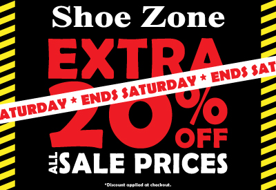 Extra 20% off Sale Ends Saturday