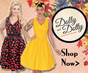 Dolly and Dotty Banner