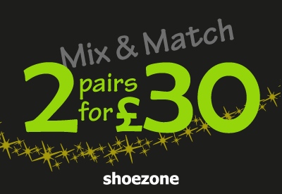 Mix & Match 2 for £30 on Selected Men's Shoes