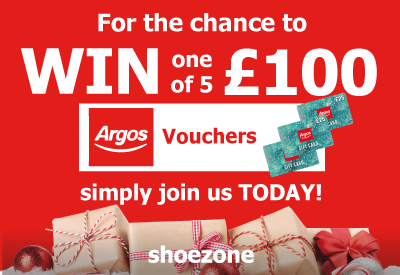 Win One of Five £100 Argos Vouchers